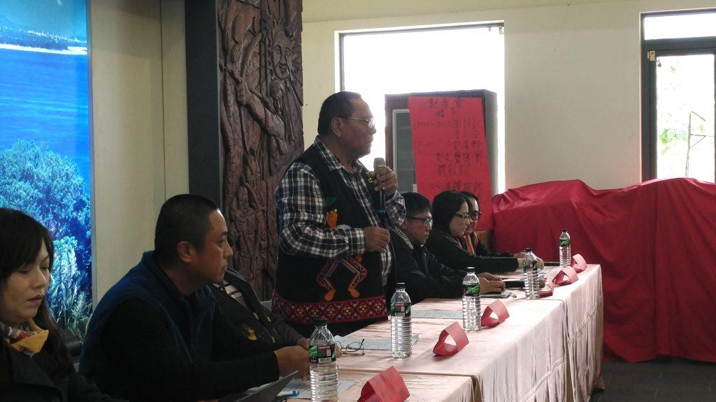 卡大地布族人在2018年2月13日召開記者會表達不接受現行光電開發案,希望縣政府讓部落參與規劃